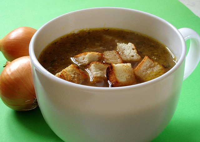 how to make vegetarian french onion soup