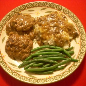 Sorta-Salisbury-Steak